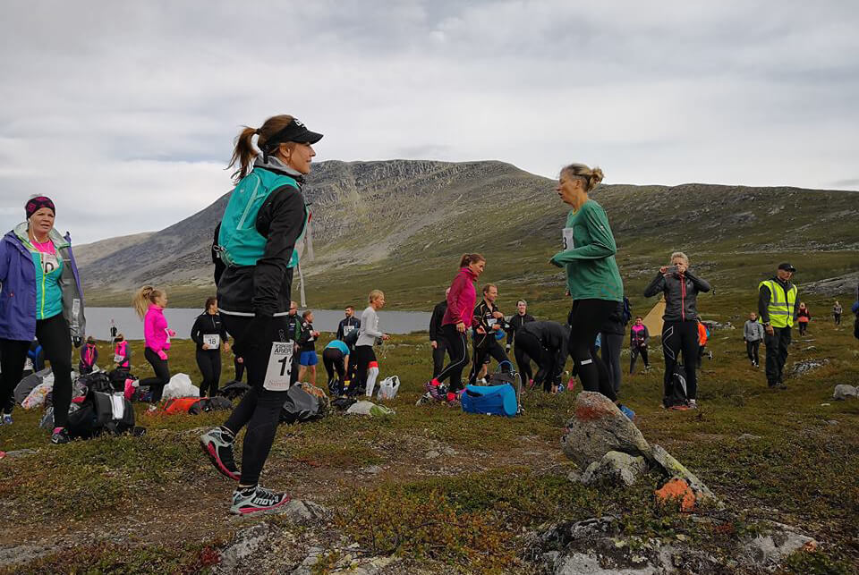 Arctic Circle Race 2018 uppvärn Guijaure