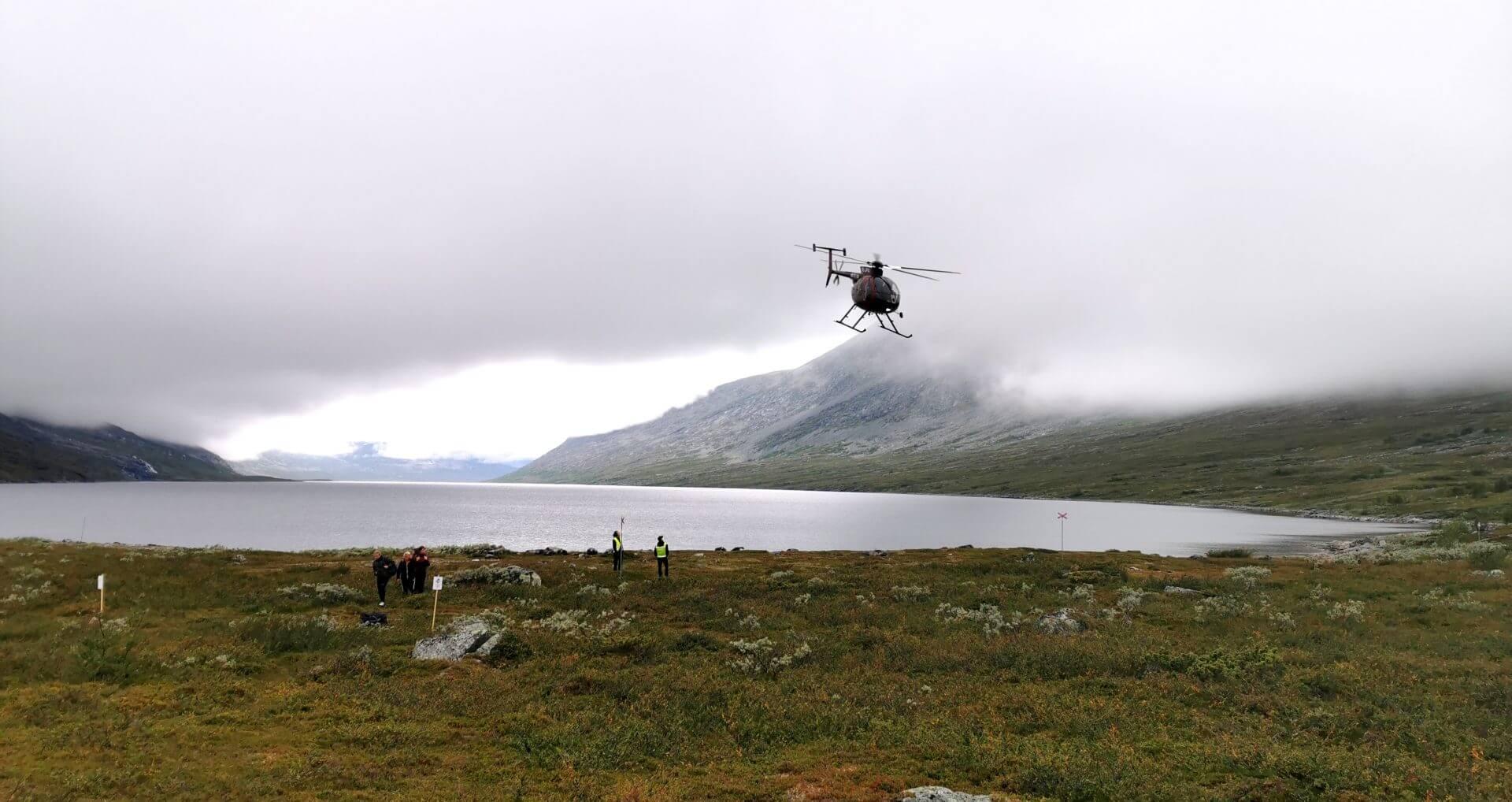 Arctic Circle Race 2019 Guijaure Polcirkeln heli2