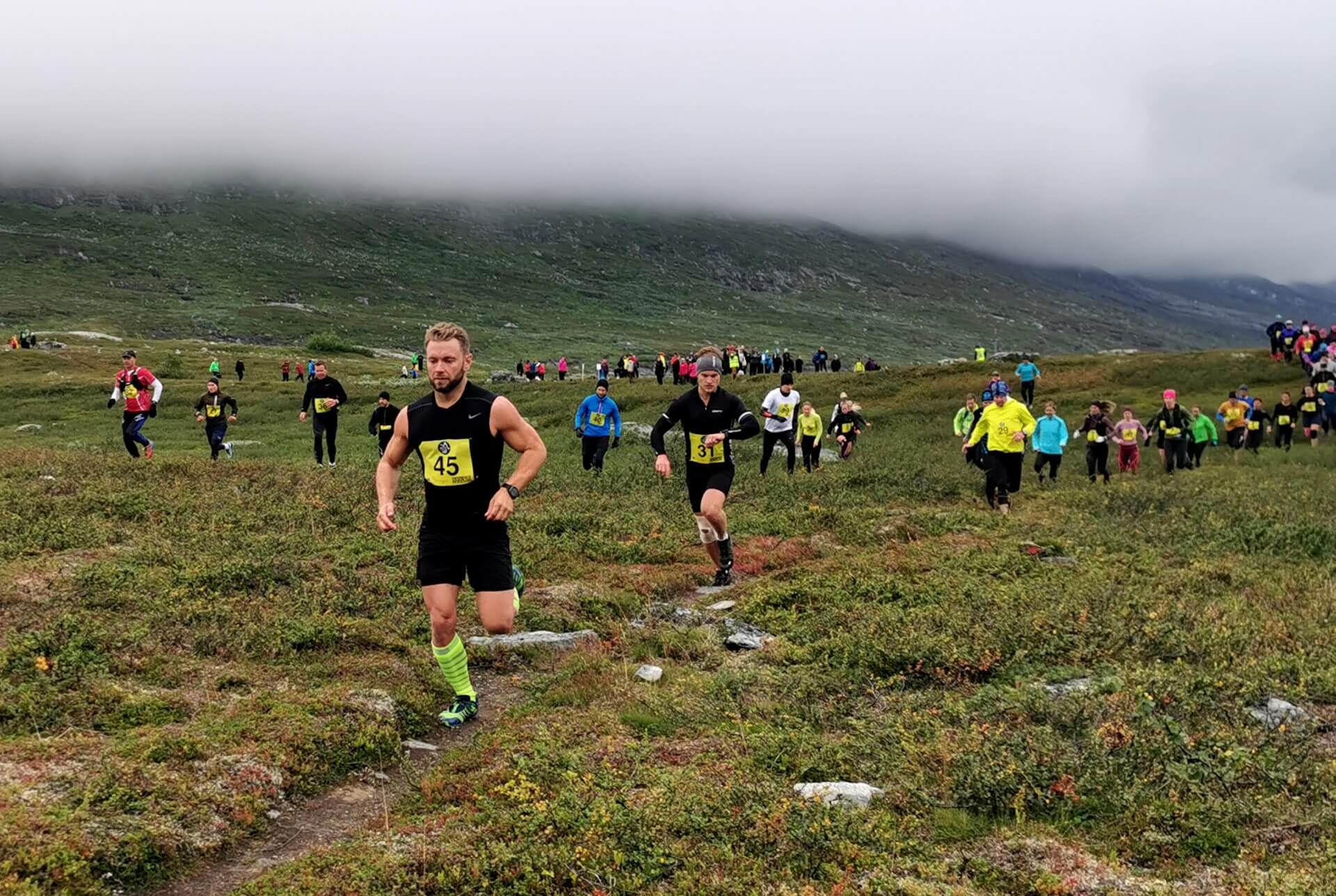 Arctic Circle Race 2019 Guijaure Polcirkeln start2