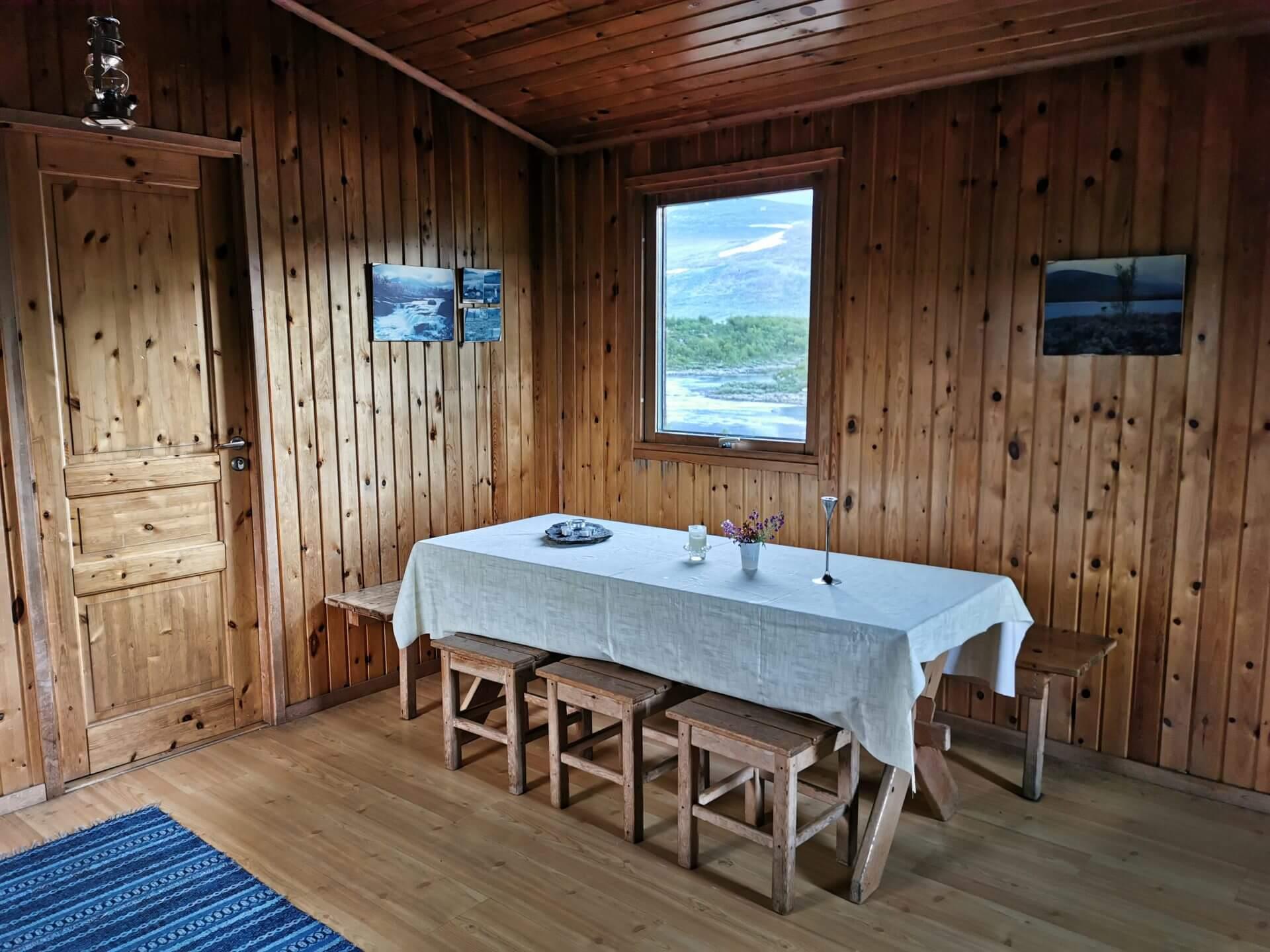 Arctic Circle Race 2019 Guijaure Polcirkeln stuga in