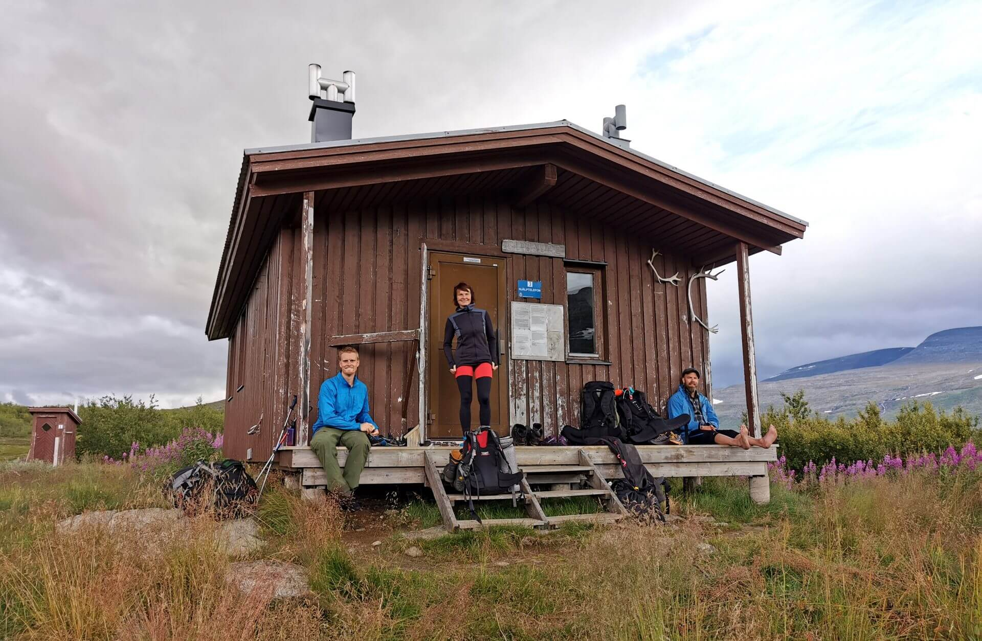 Arctic Circle Race 2019 Guijaure Polcirkeln stuga