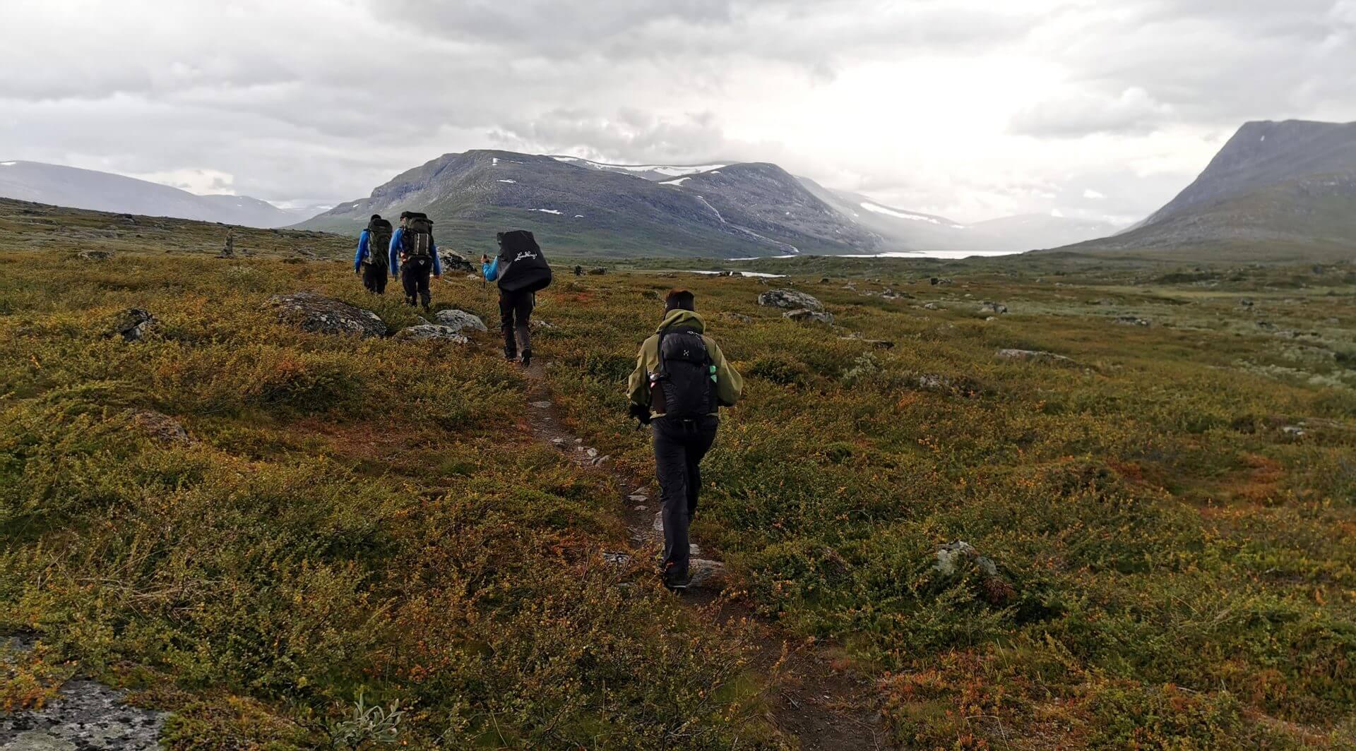 Arctic Circle Race 2019 Guijaure Polcirkeln vandr 4