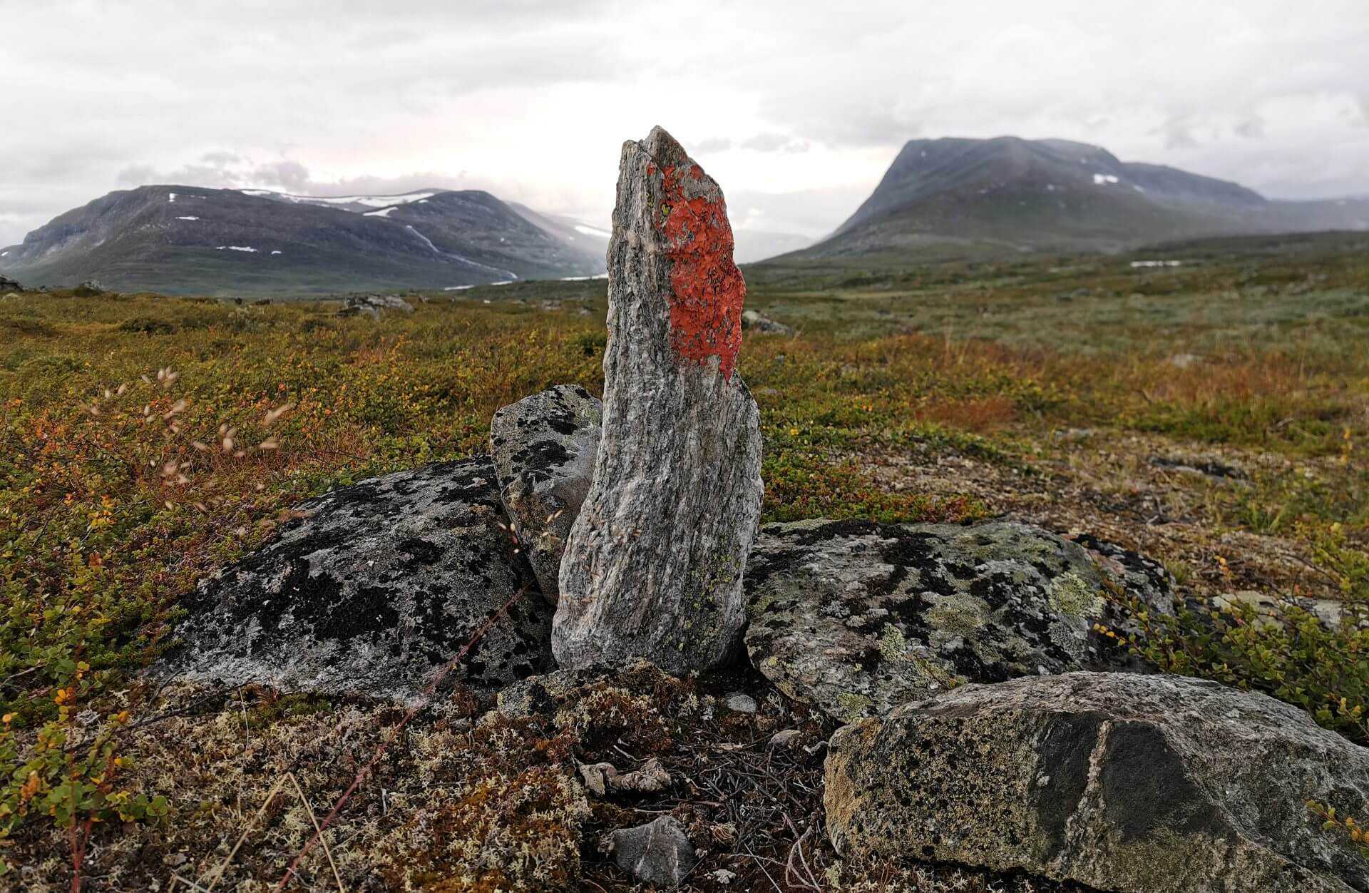 Arctic Circle Race 2019 Guijaure Polcirkeln vandr vy