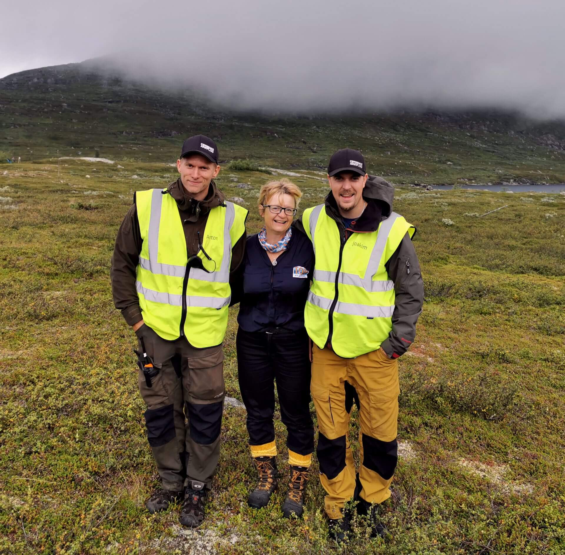 Arctic Circle Race 2019 Polcirkelloppet Guijaure Anton Maria Joakim