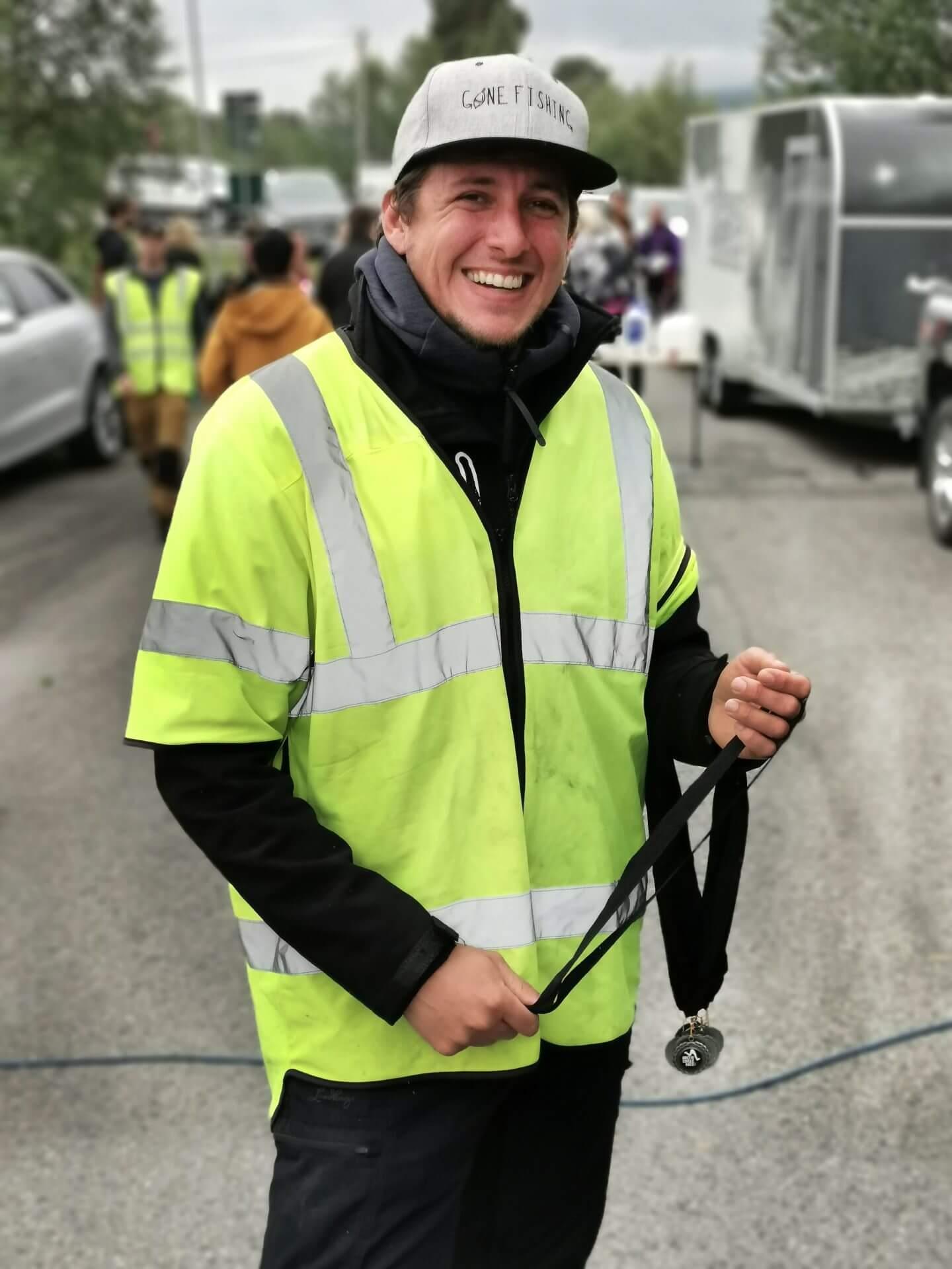 Arctic Circle Race 2019 Polcirkelloppet Guijaure Mål kranskulle