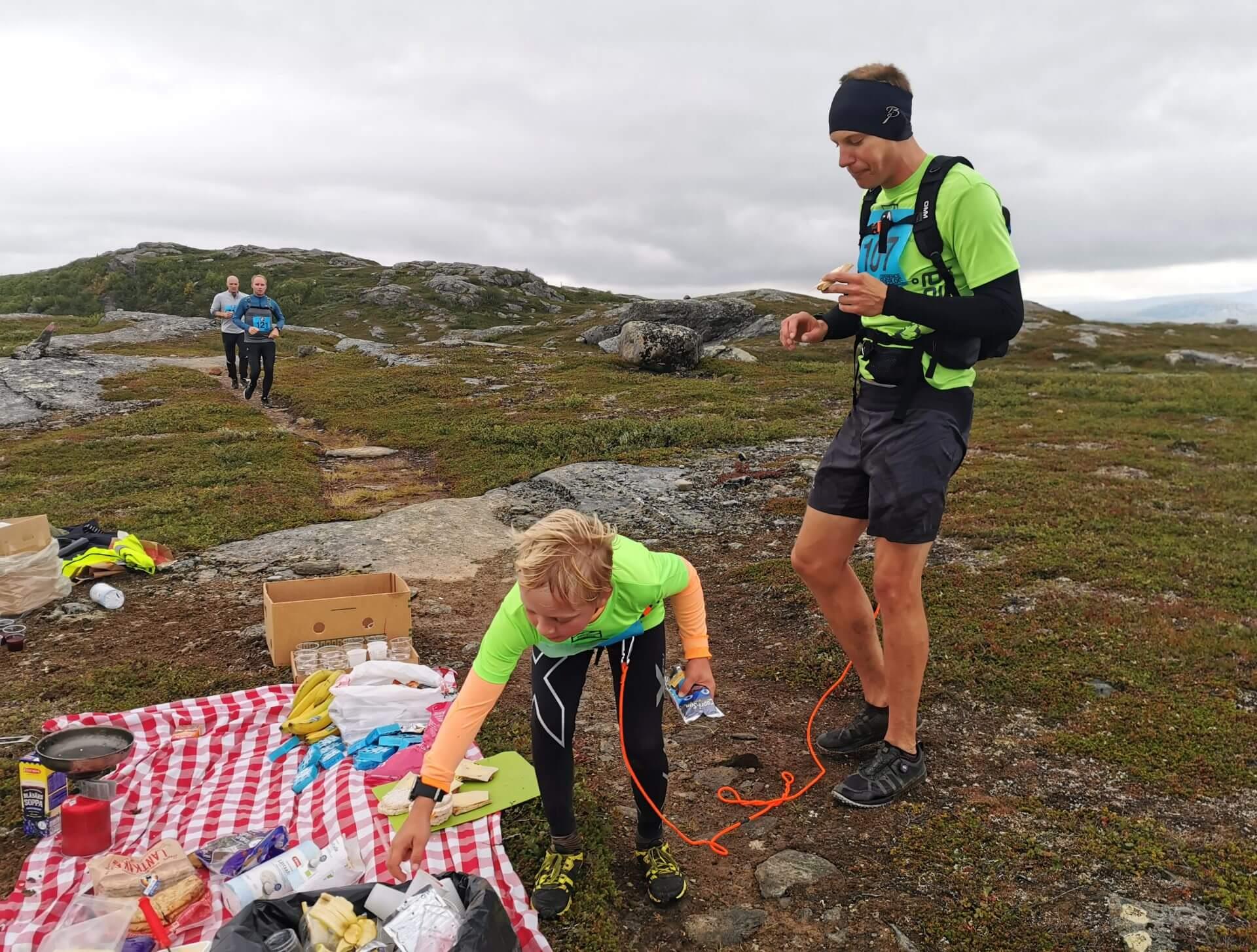 Arctic Circle Race 2019 Polcirkelloppet Guijaure kontr 10