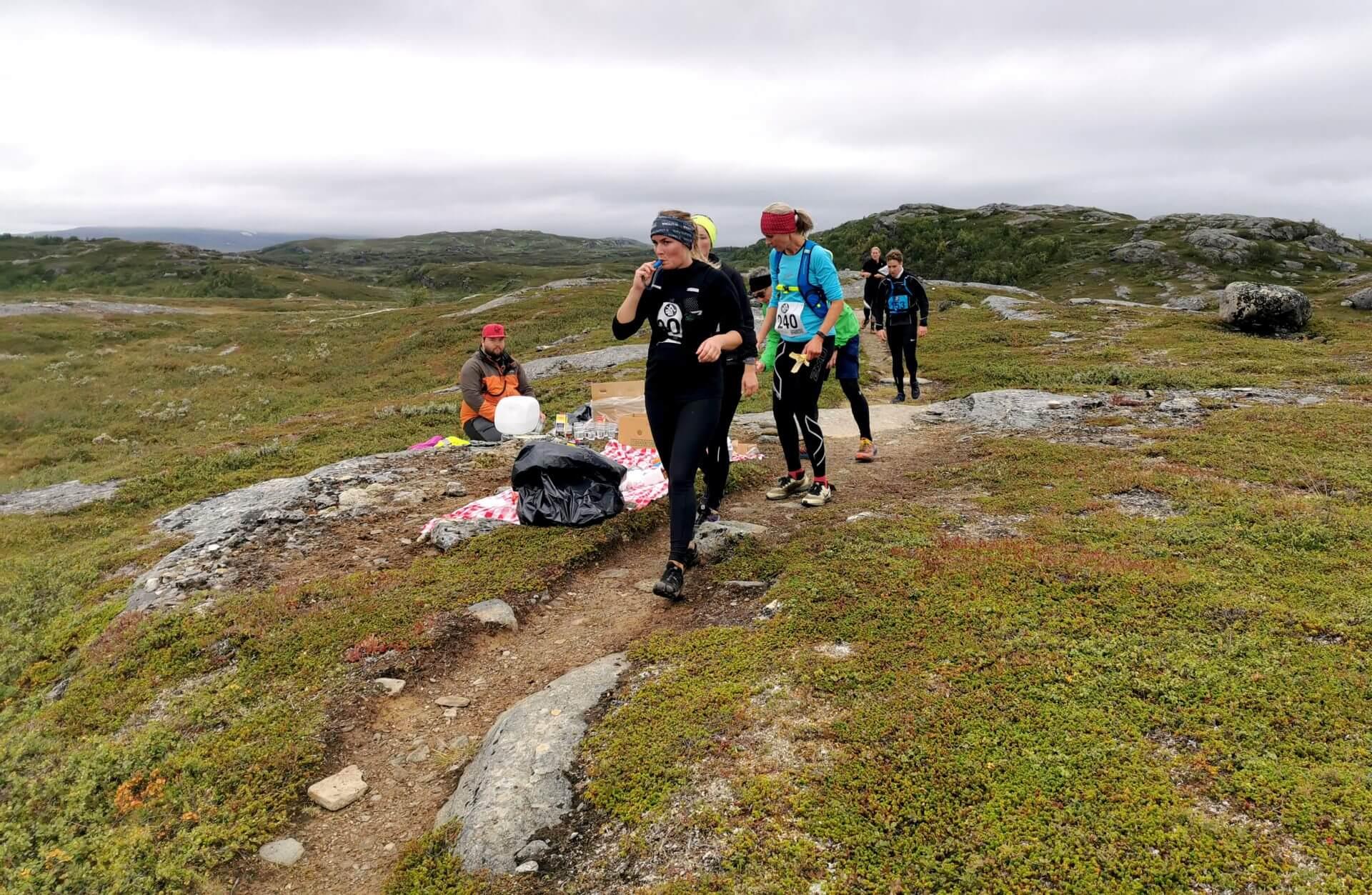 Arctic Circle Race 2019 Polcirkelloppet Guijaure kontr 4