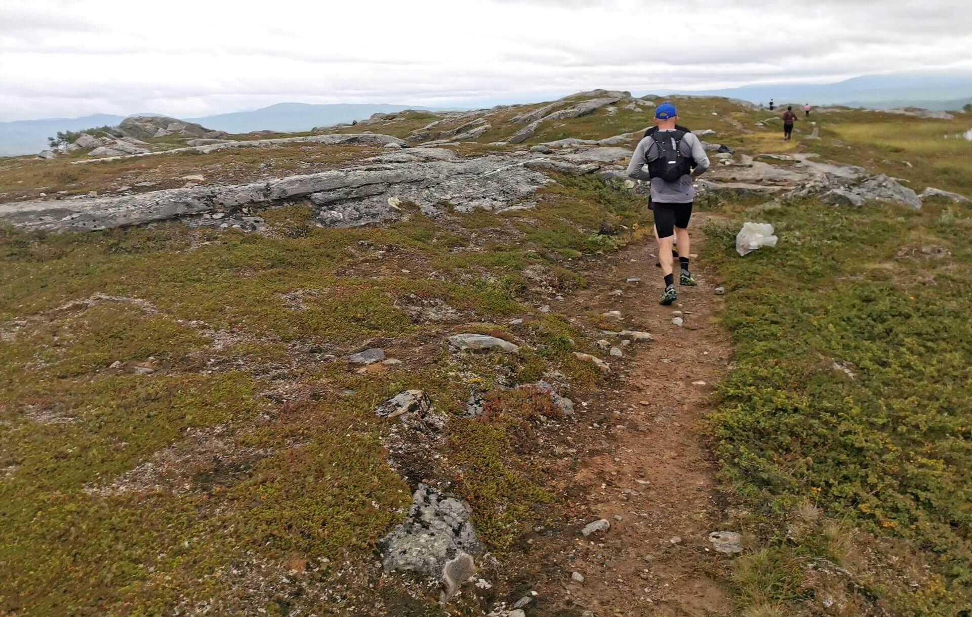 Arctic Circle Race 2019 Polcirkelloppet Guijaure kontr 4,5 km kvar
