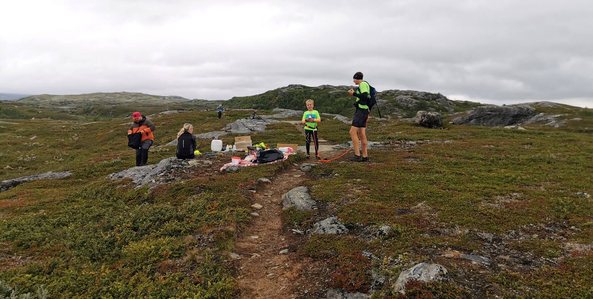 Arctic Circle Race 2019 Polcirkelloppet Guijaure kontr 9