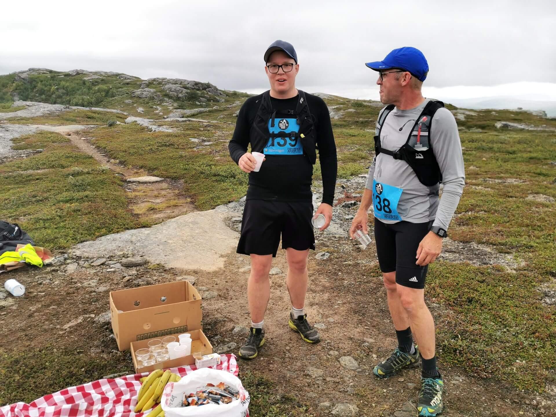 Arctic Circle Race 2019 Polcirkelloppet Guijaure kontr Anders Westergren