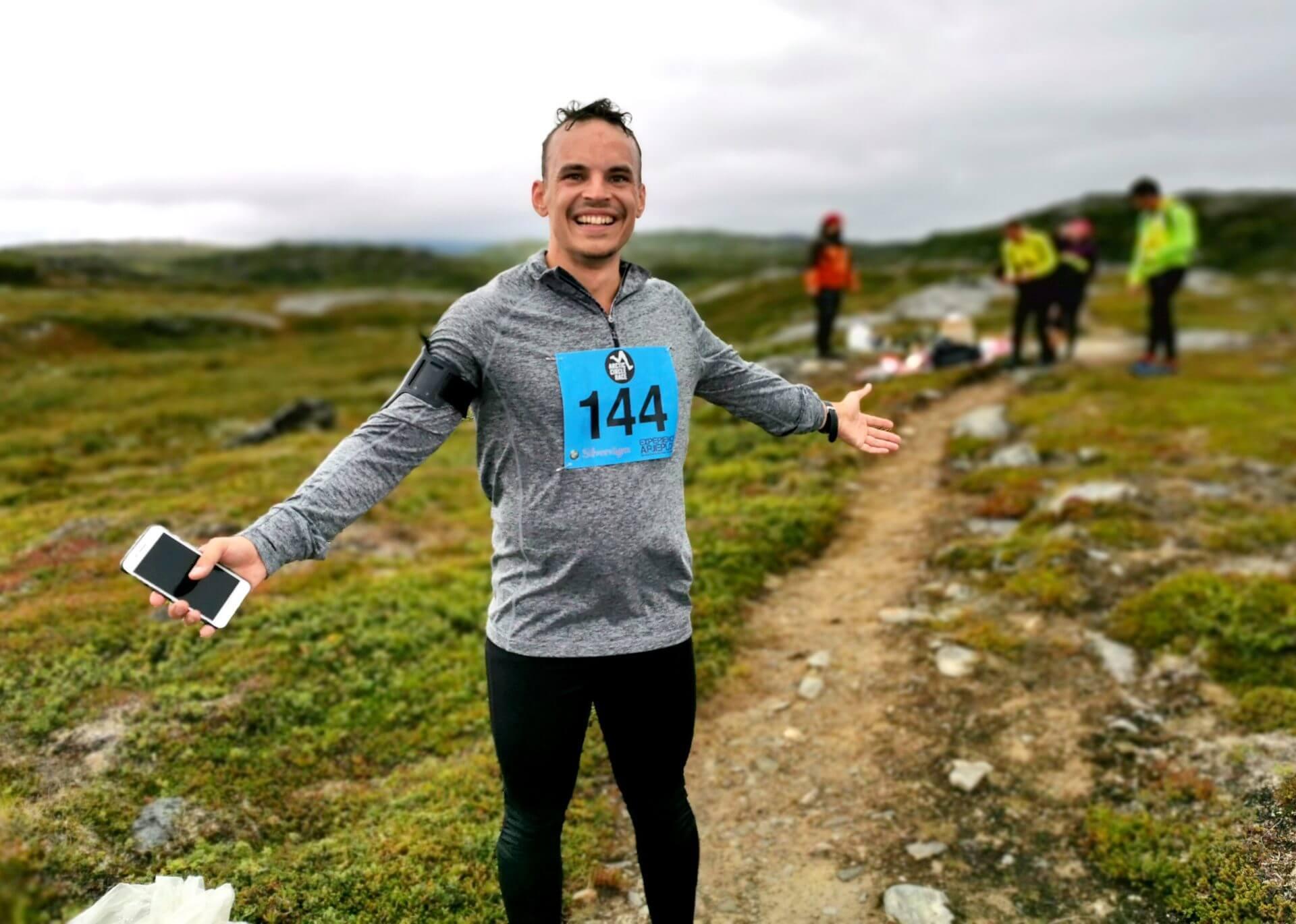 Arctic Circle Race 2019 Polcirkelloppet Guijaure kontr Jansson