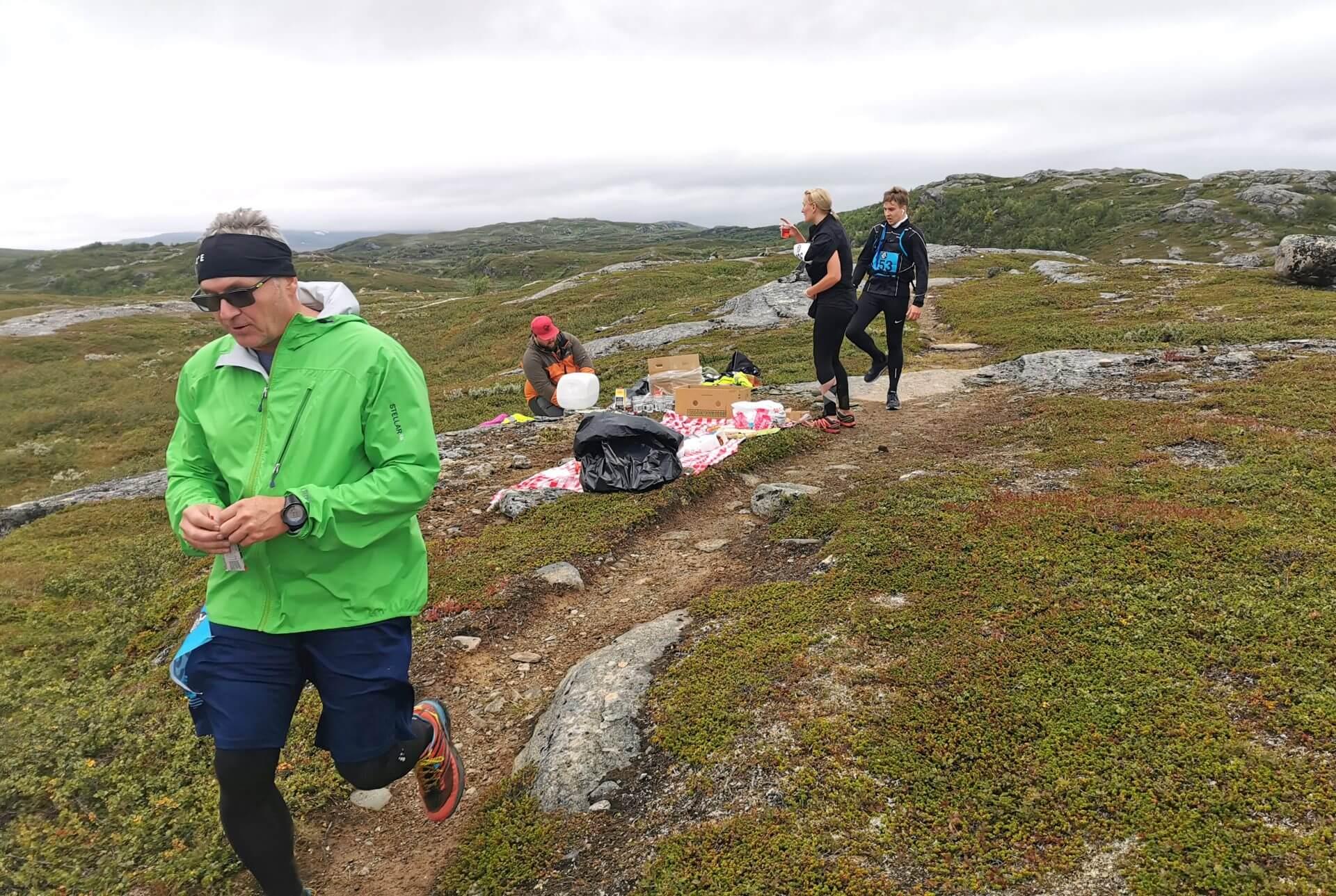 Arctic Circle Race 2019 Polcirkelloppet Guijaure kontrl 7
