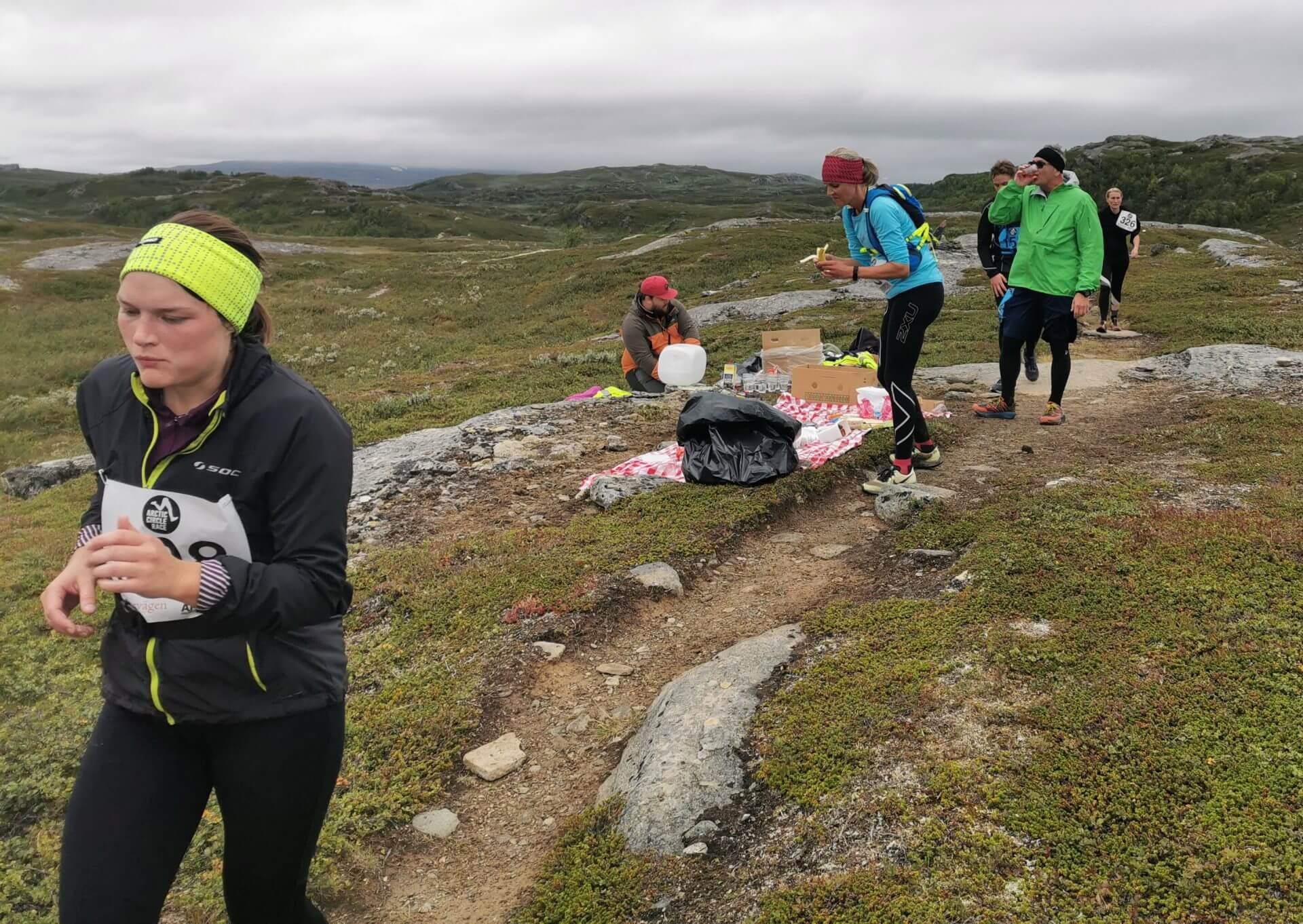 Arctic Circle Race 2019 Polcirkelloppet Guijaure kontro 6