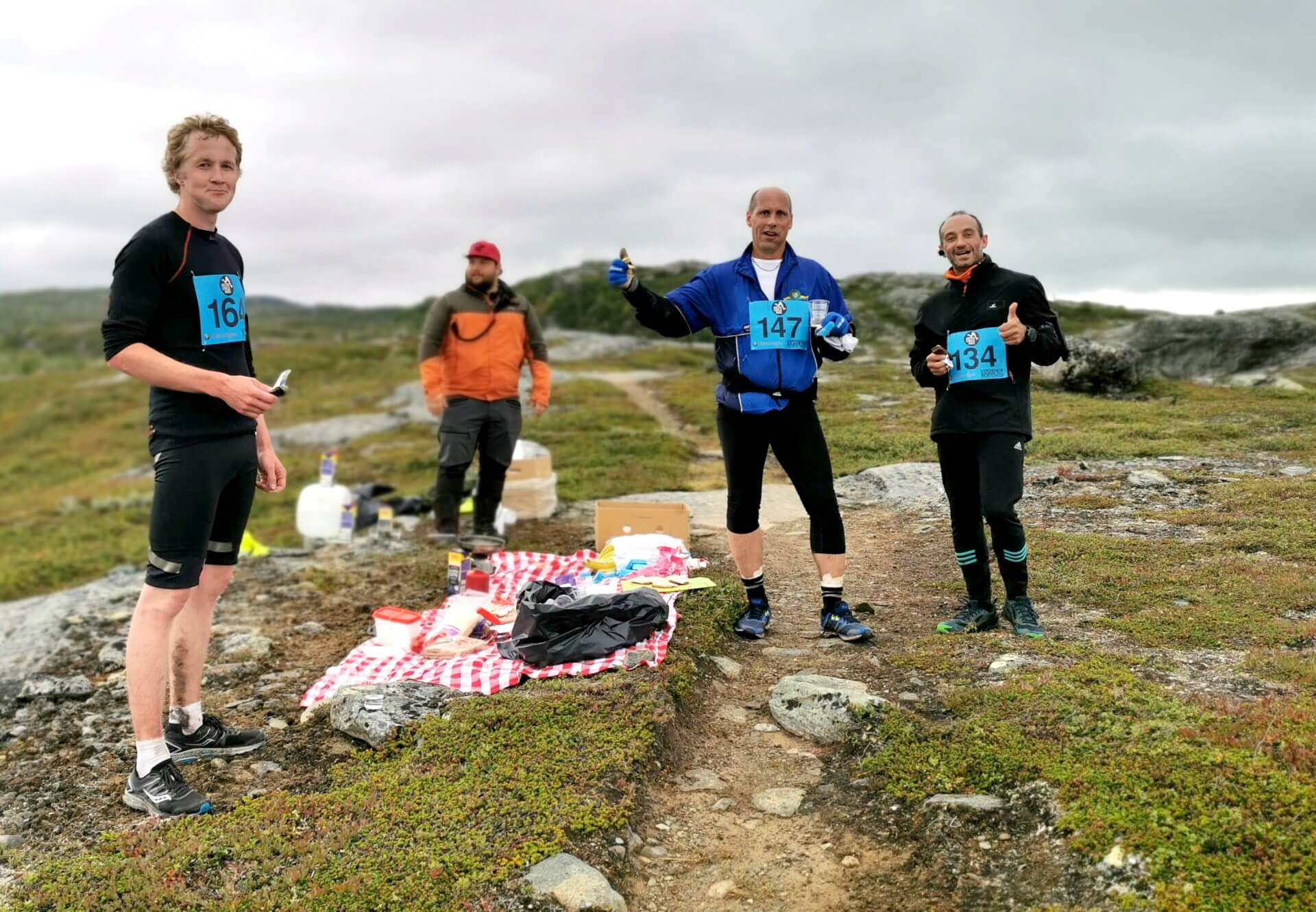 Arctic Circle Race 2019 Polcirkelloppet Guijaure kontroll 3 m