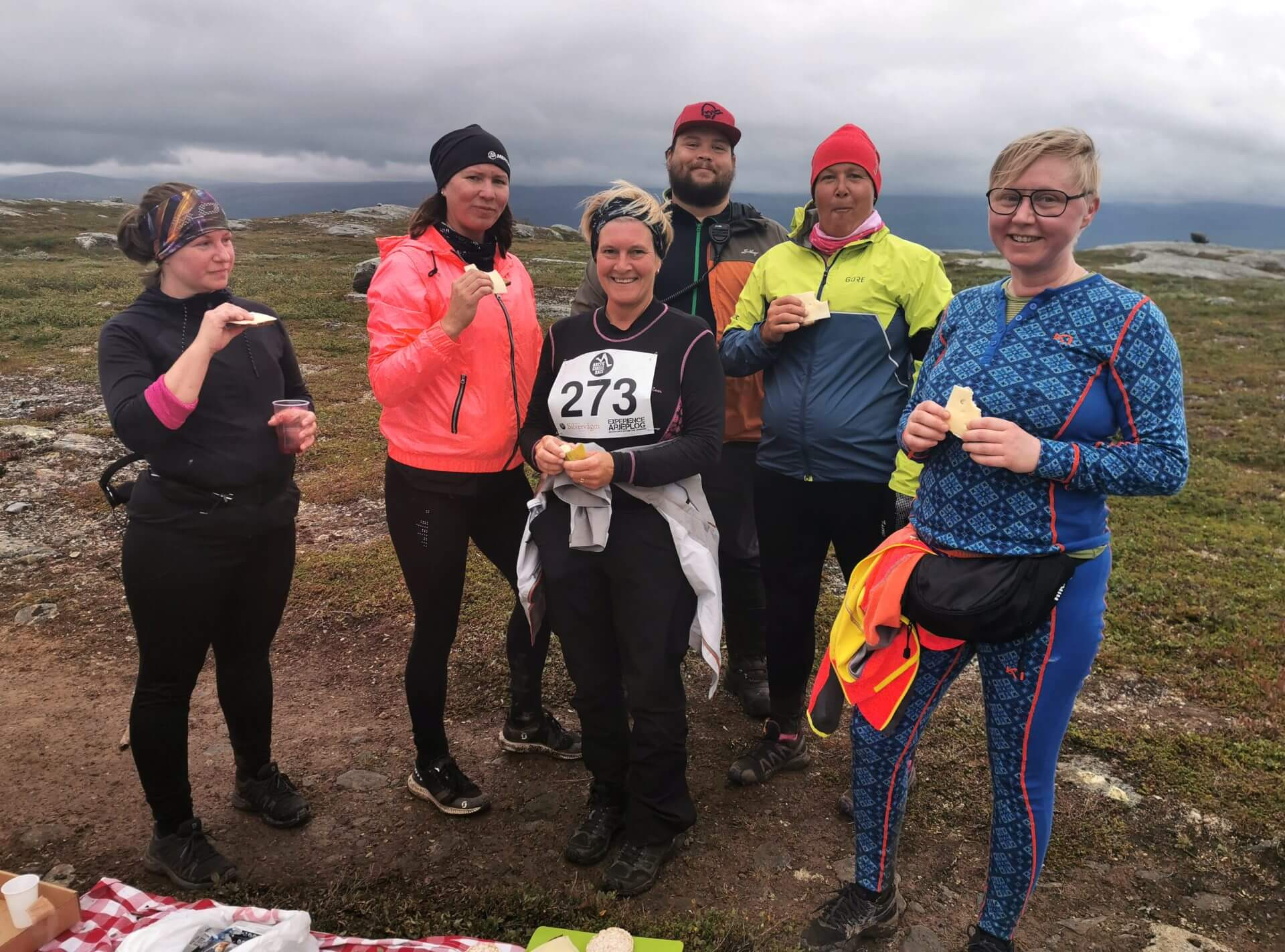 Arctic Circle Race 2019 Polcirkelloppet Guijaure kontroll