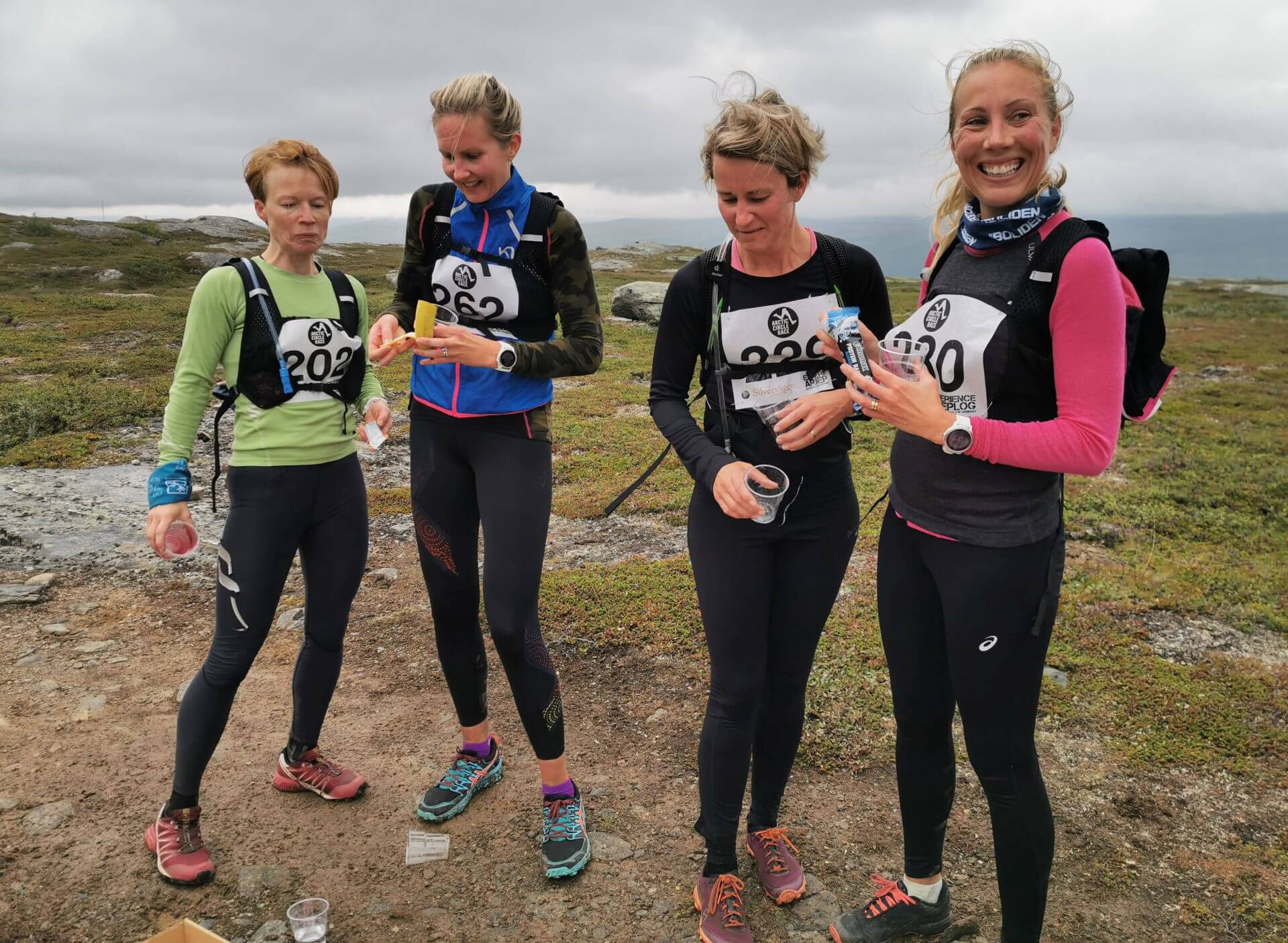 Arctic Circle Race 2019 Polcirkelloppet Guijaure kontroll8
