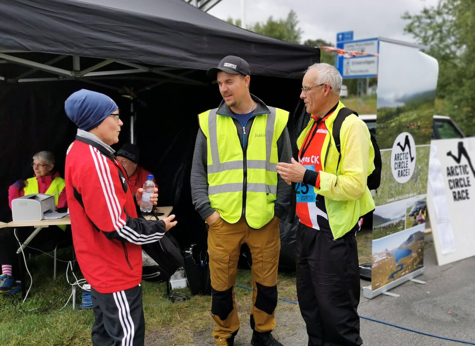 Arctic Circle Race 2019 Polcirkelloppet Guijaure mål jocke