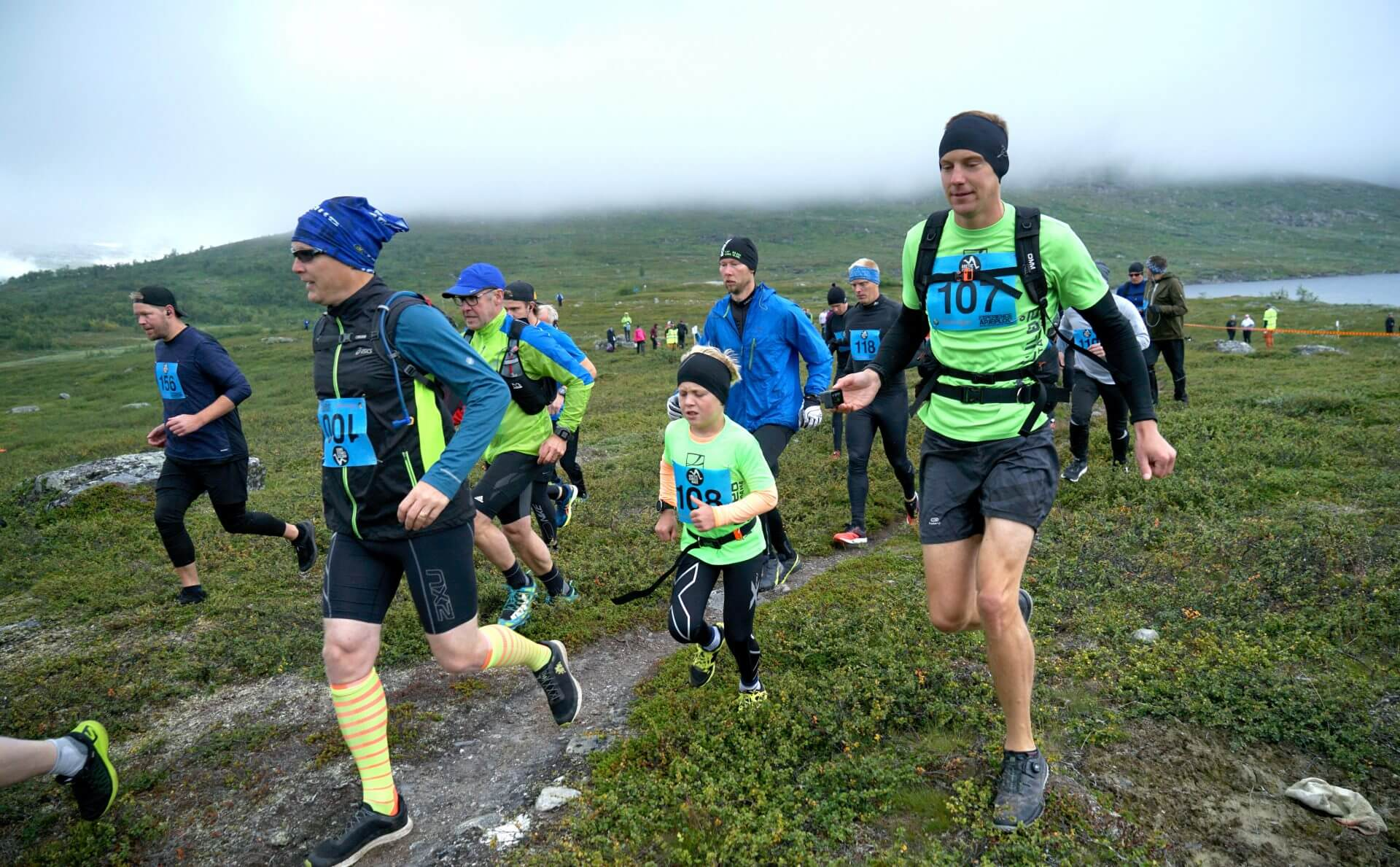 Arctic Circle Race 2019 Polcirkelloppet Guijaure start 107 108B