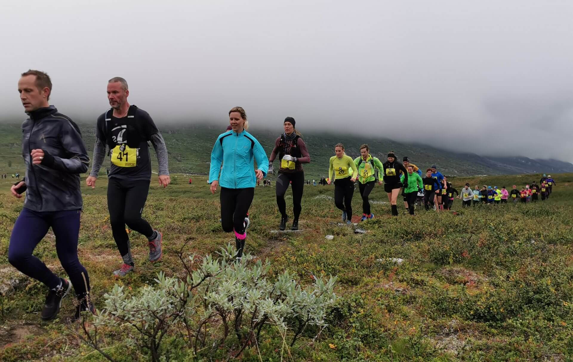 Arctic Circle Race 2019 Polcirkelloppet Guijaure start 11