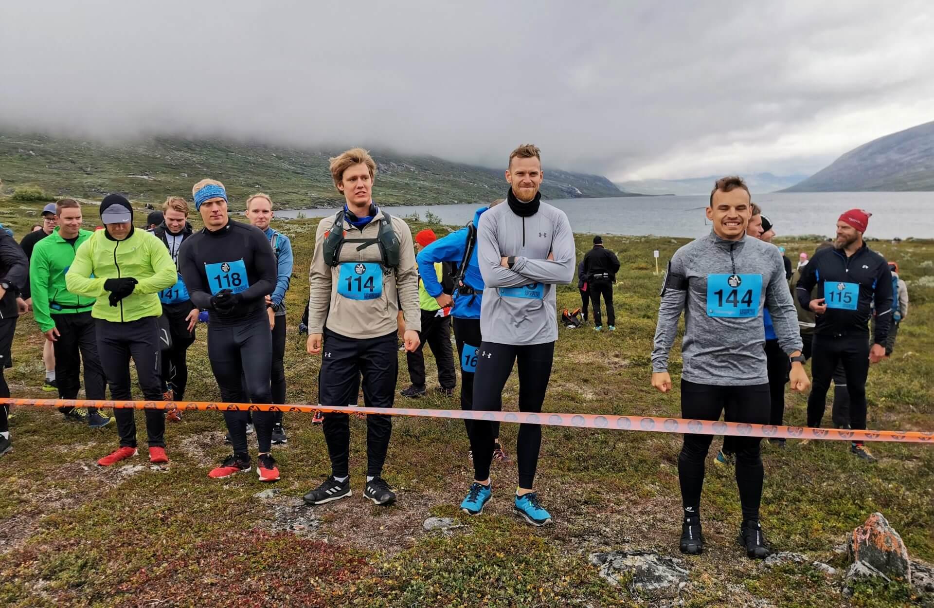Arctic Circle Race 2019 Polcirkelloppet Guijaure start 144 114 118