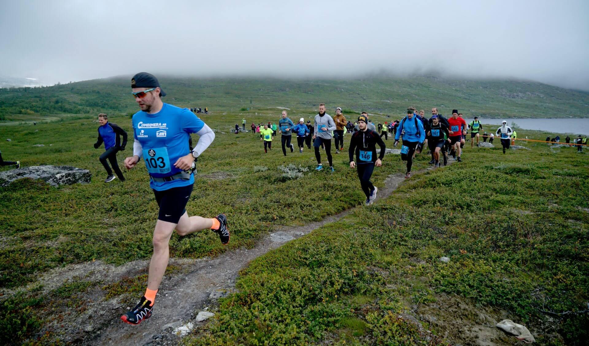 Arctic Circle Race 2019 Polcirkelloppet Guijaure start 2