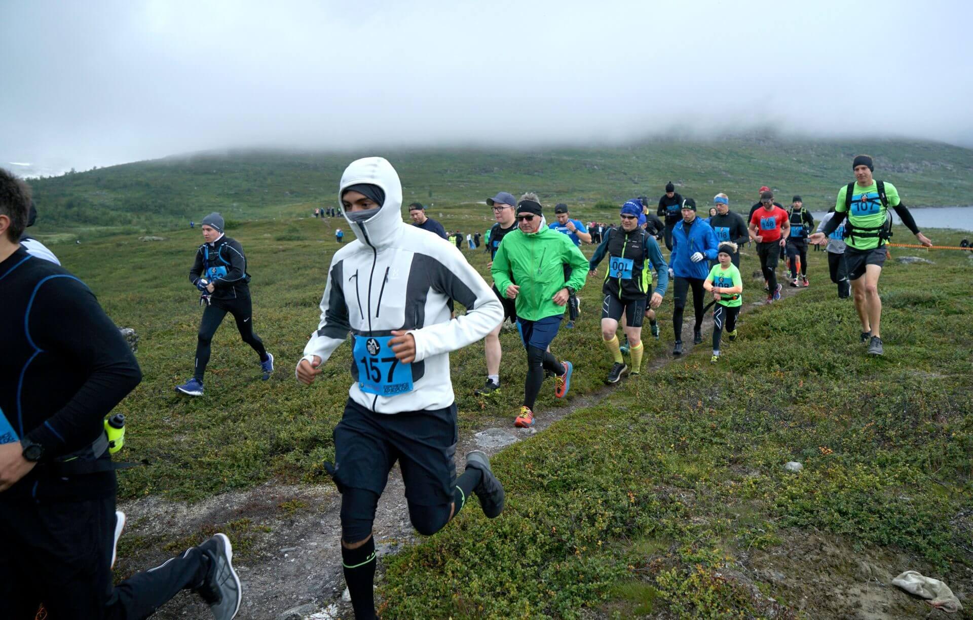 Arctic Circle Race 2019 Polcirkelloppet Guijaure start 2D