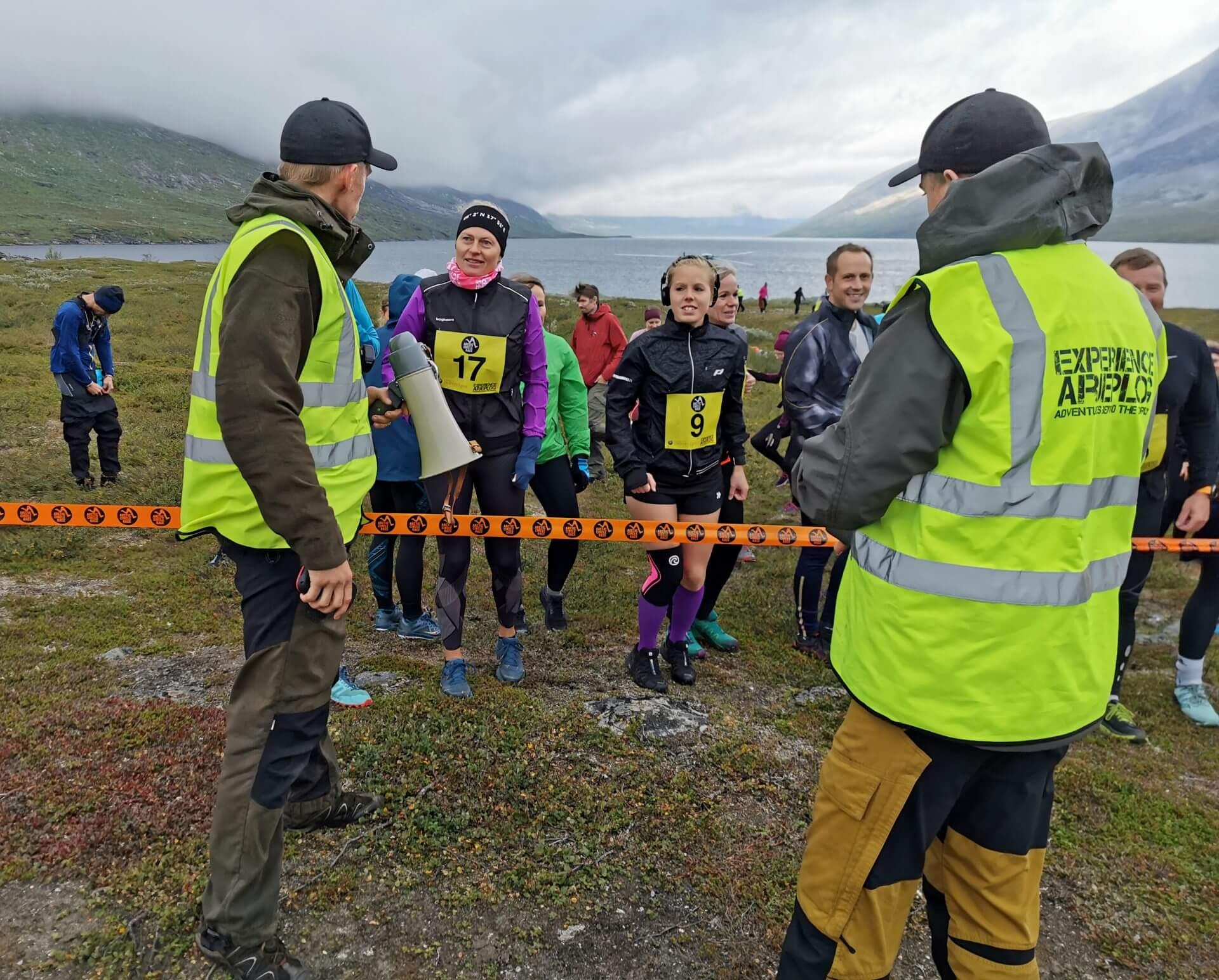 Arctic Circle Race 2019 Polcirkelloppet Guijaure start Anton Jocke