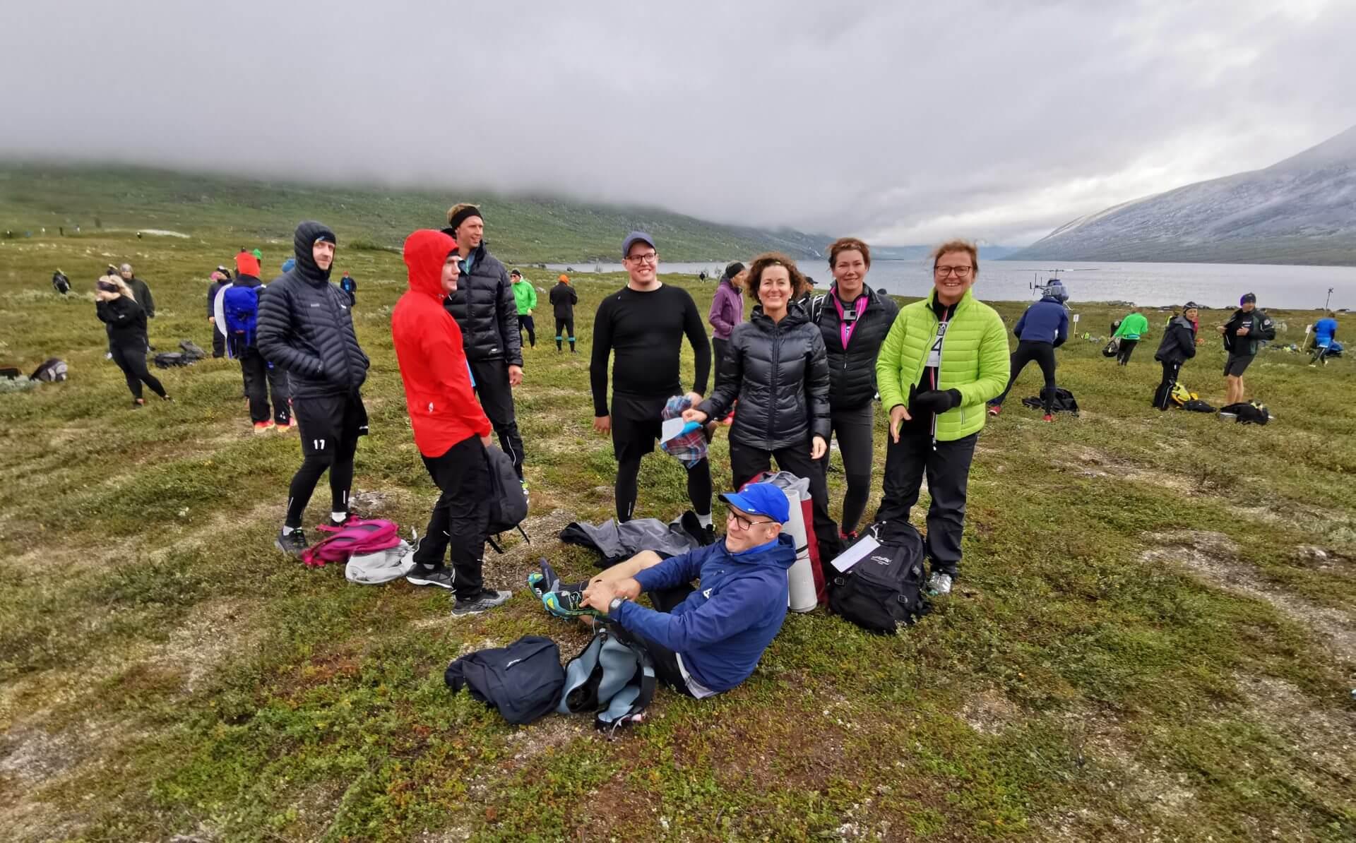 Arctic Circle Race 2019 Polcirkelloppet Guijaure start Piteå