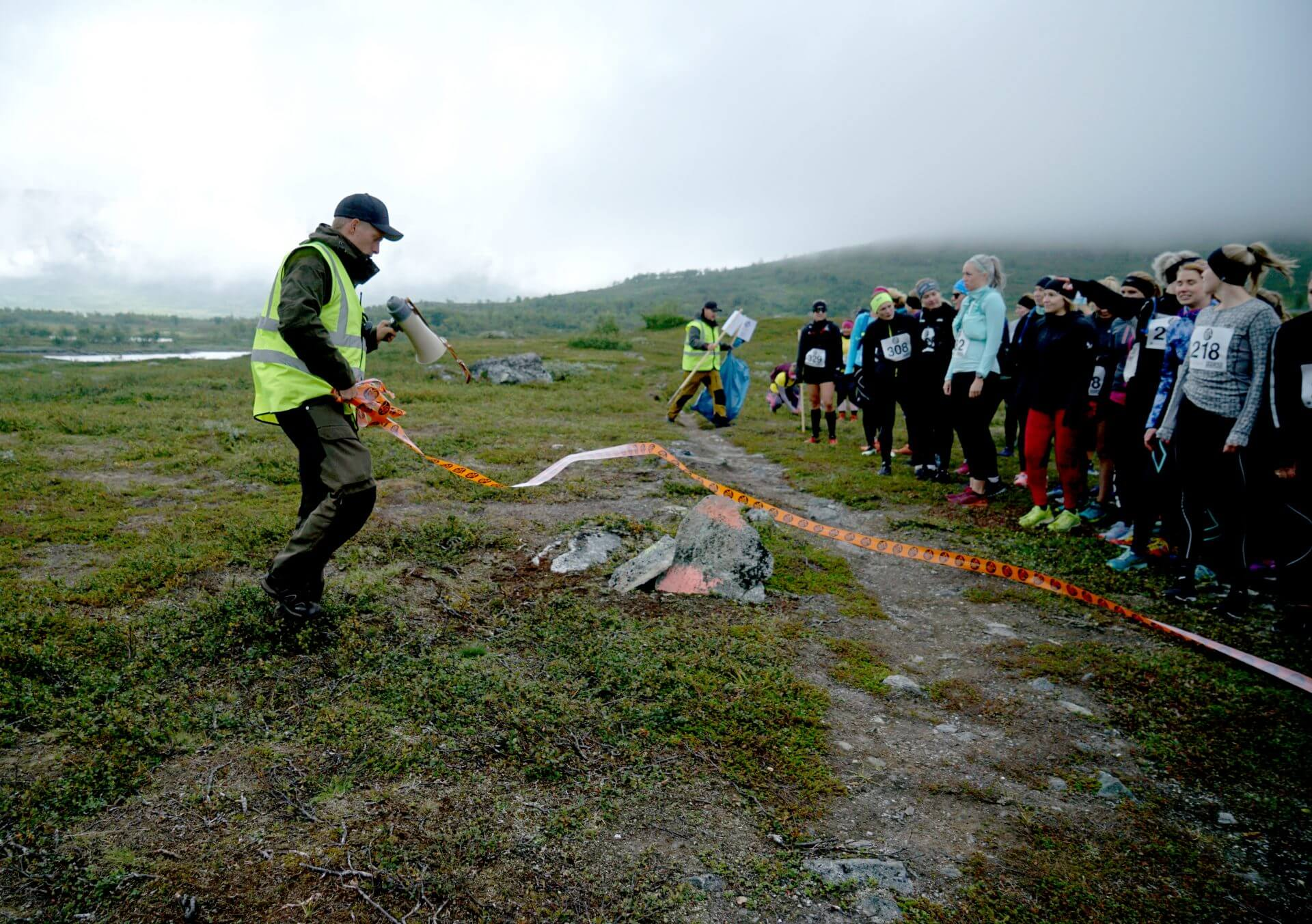 Arctic Circle Race 2019 Polcirkelloppet Guijaure start band