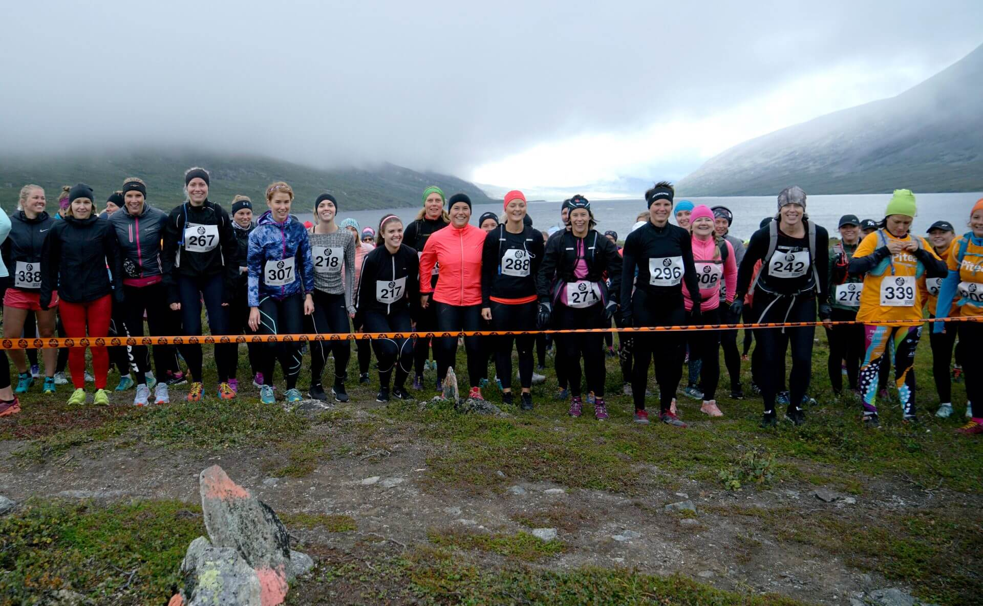 Arctic Circle Race 2019 Polcirkelloppet Guijaure start damer