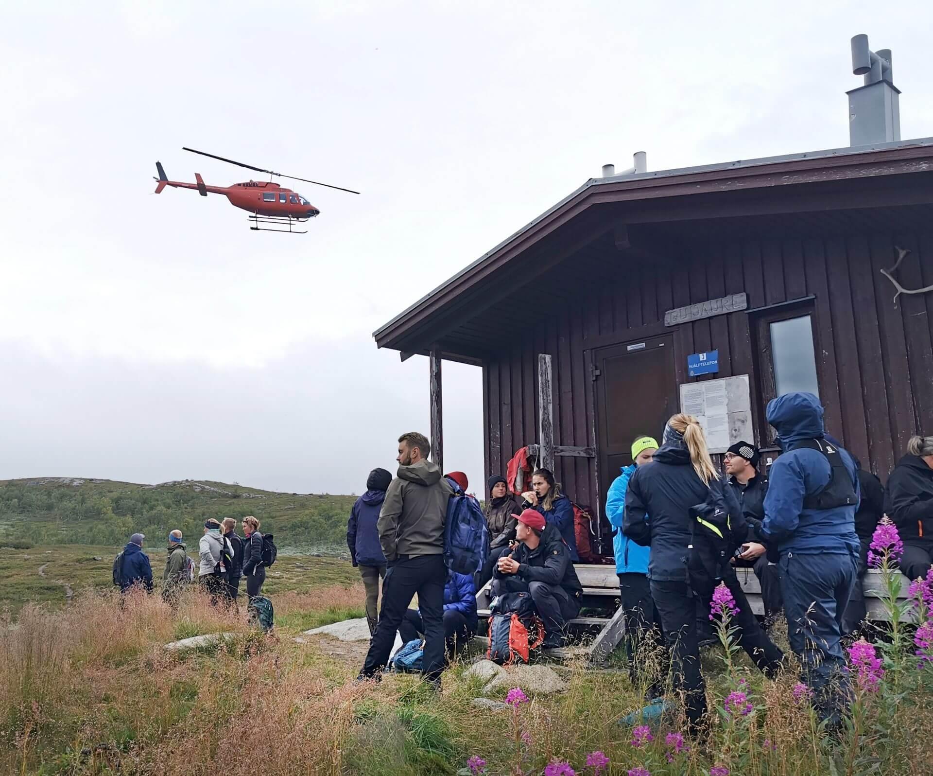 Arctic Circle Race 2019 Polcirkelloppet Guijaure start heli5