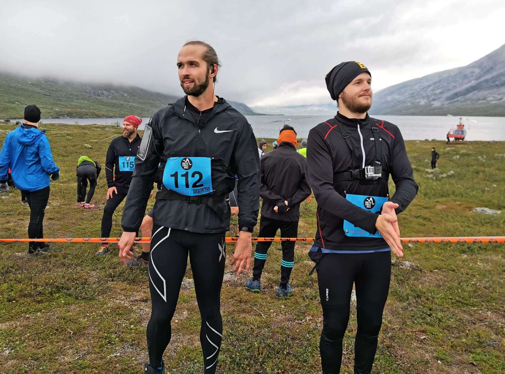Arctic Circle Race 2019 Polcirkelloppet Guijaure start nr 112