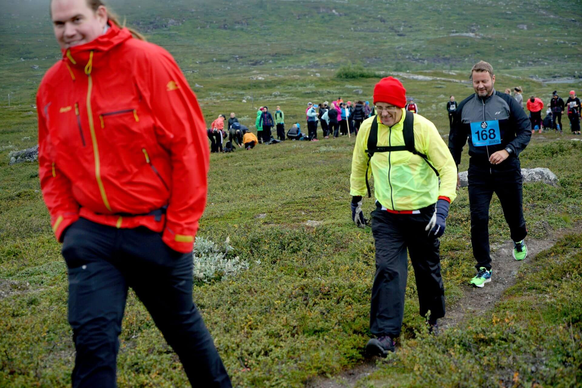 Arctic Circle Race 2019 Polcirkelloppet Guijaure start nr 168