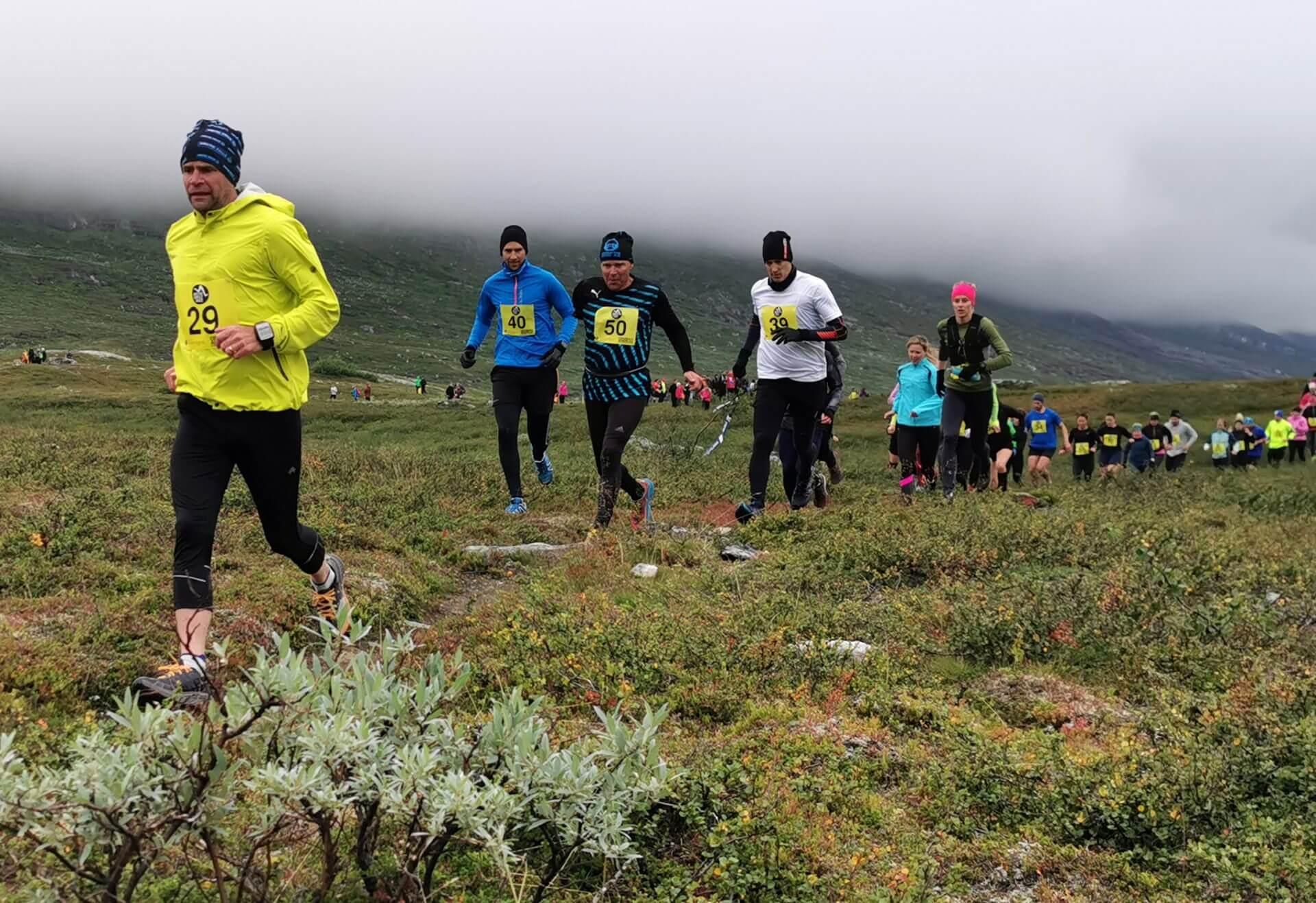 Arctic Circle Race 2019 Polcirkelloppet Guijaure start nr 29