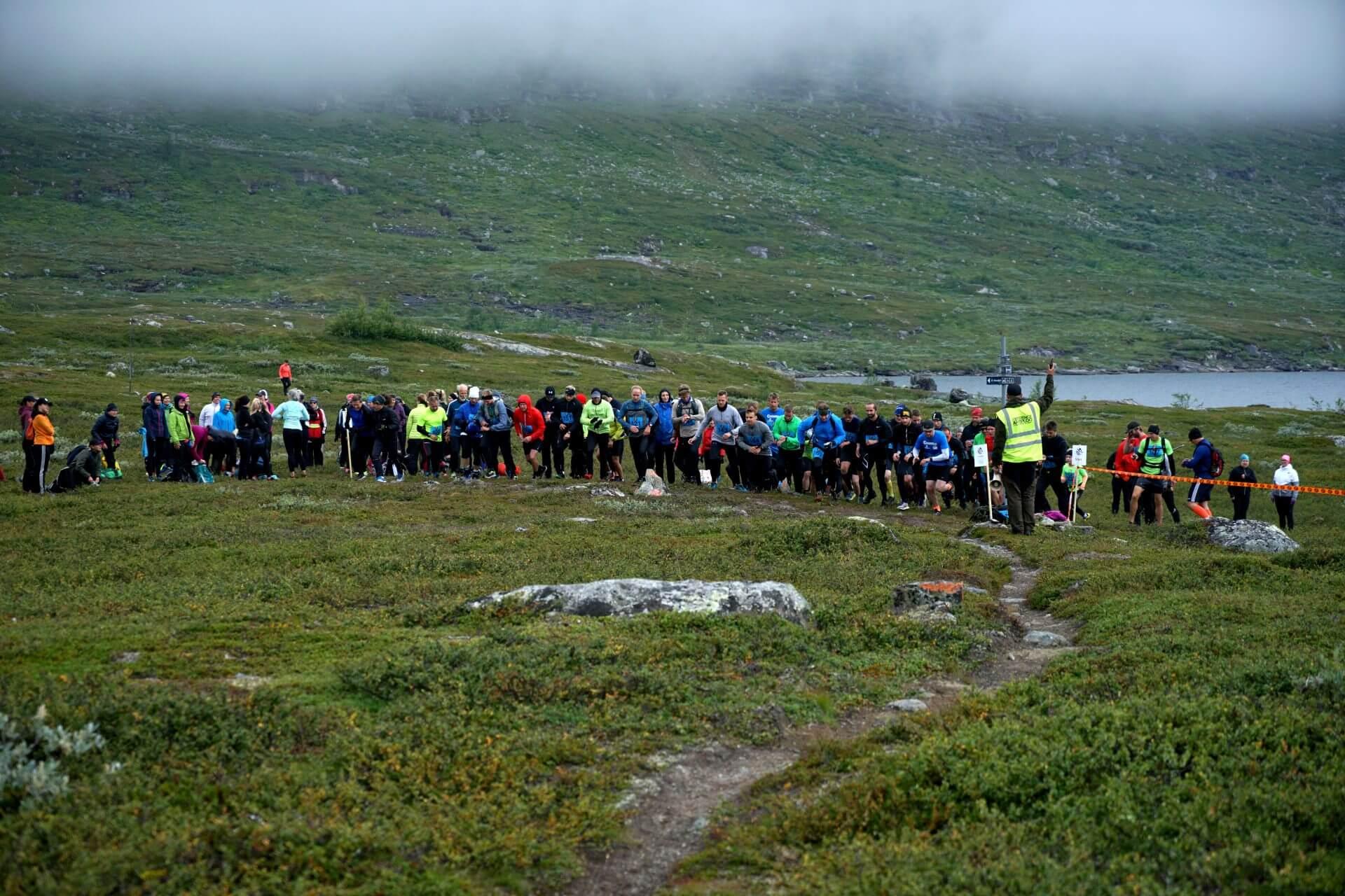 Arctic Circle Race 2019 Polcirkelloppet Guijaure start skott