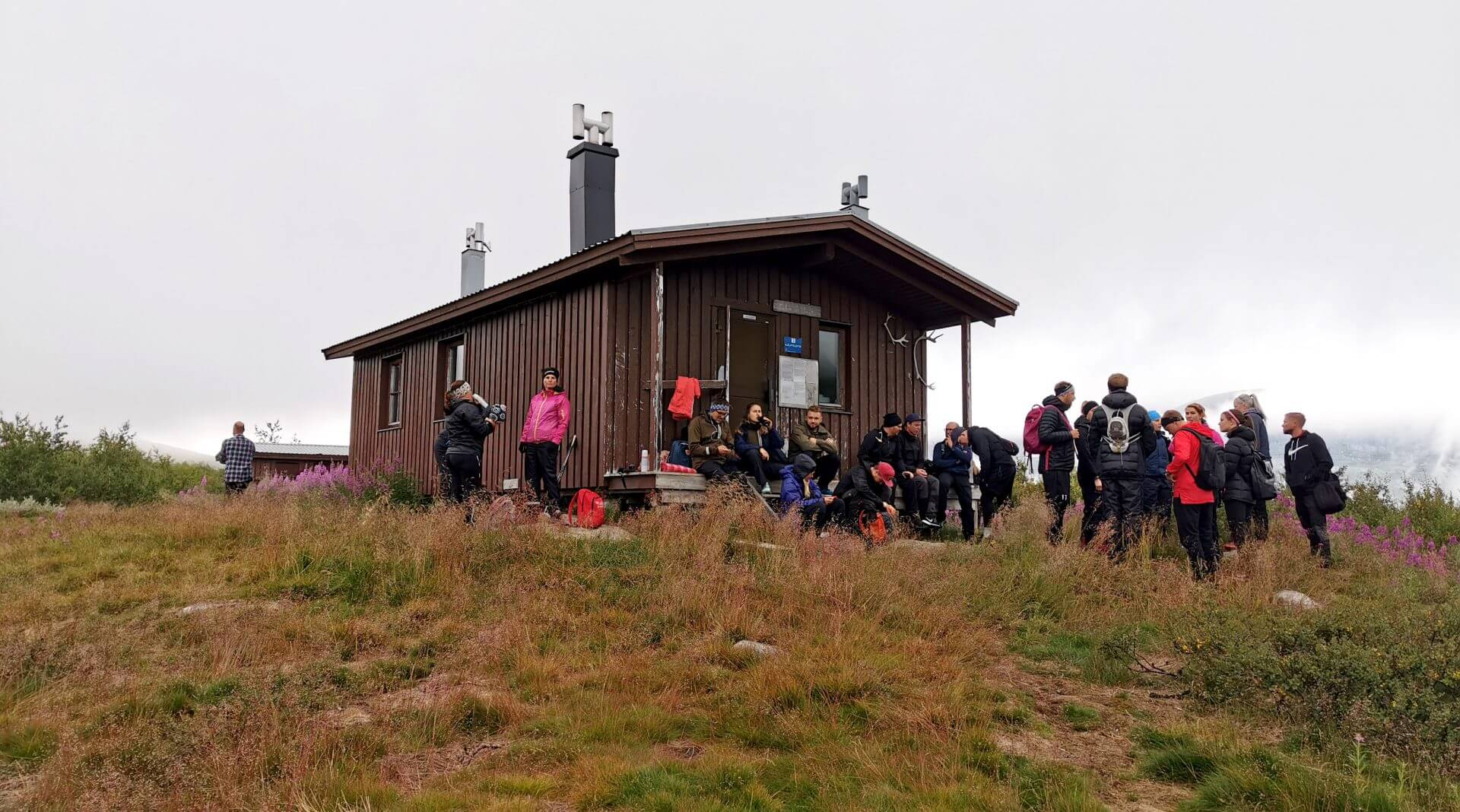 Arctic Circle Race 2019 Polcirkelloppet Guijaure start stuga2