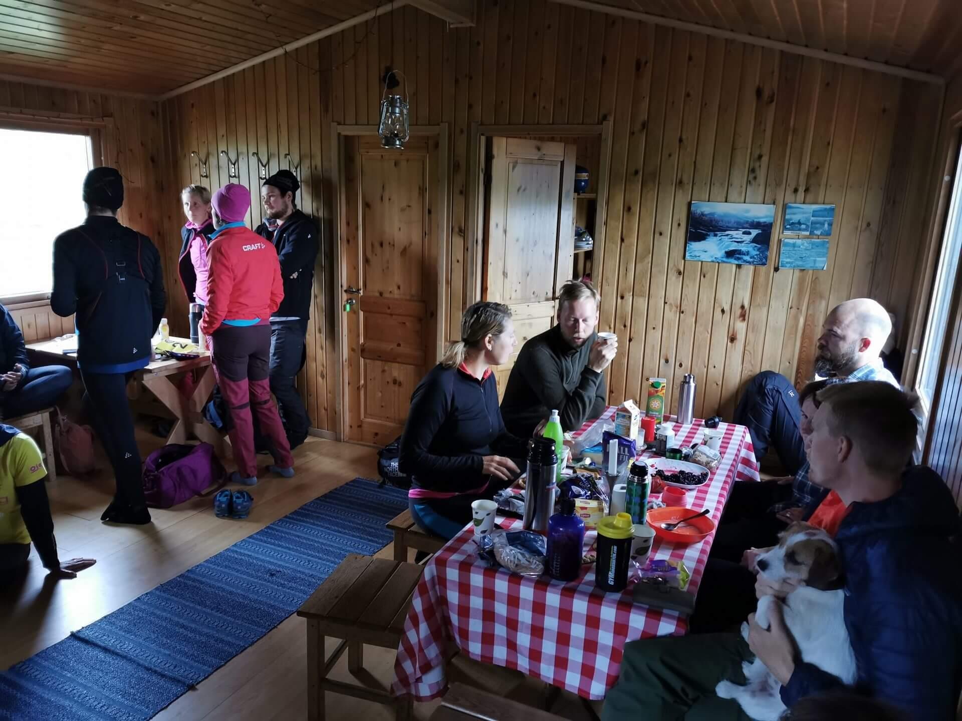 Arctic Circle Race 2019 Polcirkelloppet Guijaure start stuga5