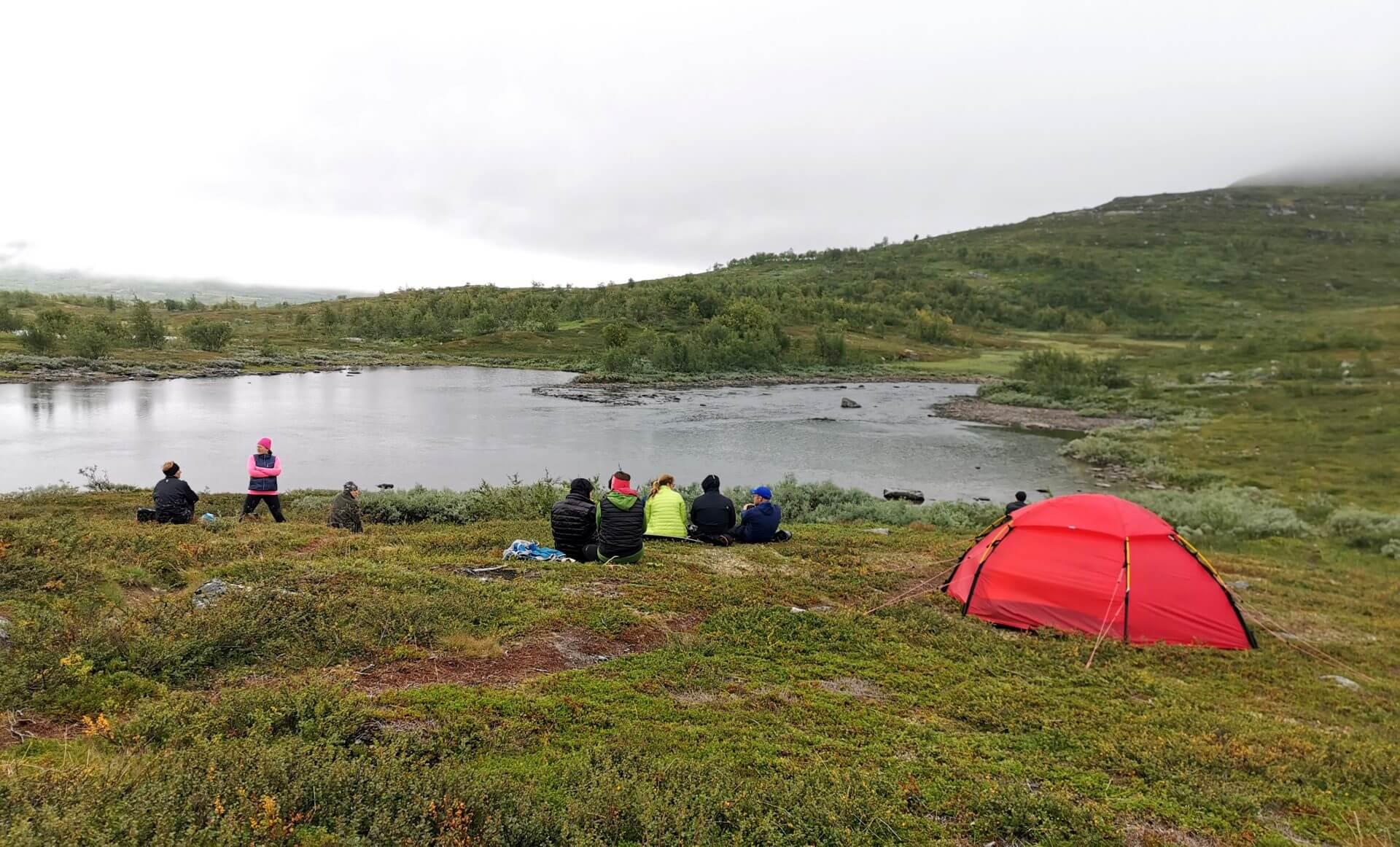 Arctic Circle Race 2019 Polcirkelloppet Guijaure start väntan