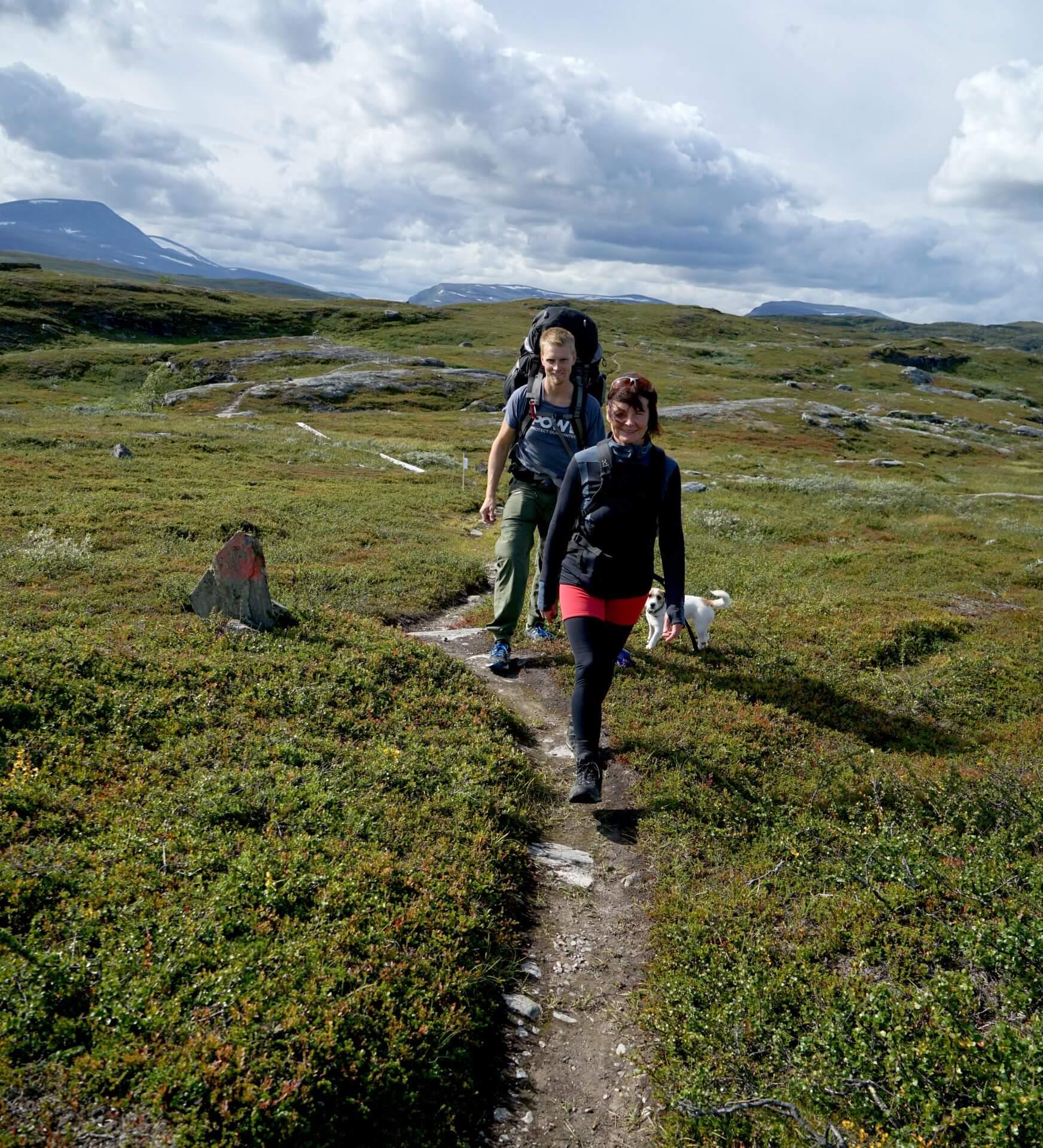 Arctic Circle Race 2019 Polcirkelloppet Guijaure vandring Sundman